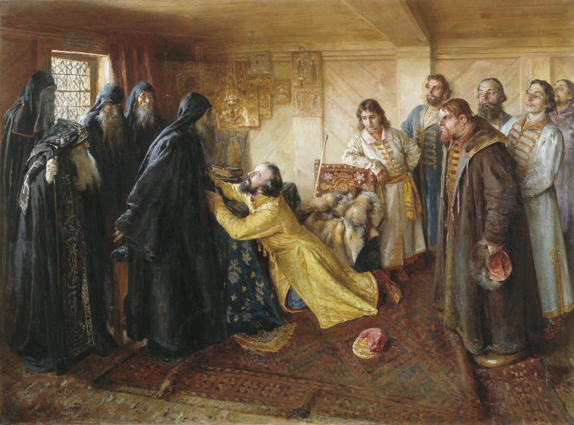 Лебедев 1852 1916 царь иван грозный